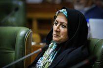 درخواست شهربانو امانی از نجفی: مدیرعامل ستاد بحران شهرداری باید عزل شود