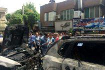 جزئیات مصدومان آتشسوزی بازارچه دستفروشان 4 گلشهر کرج