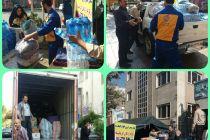 ارسال دومین محموله شهرداری تهران به منطقه زلزله زده+جزئیات