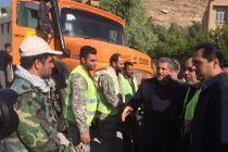 گزارش محسن هاشمی از مشاهدات در مناطق زلزله زده کرمانشاه