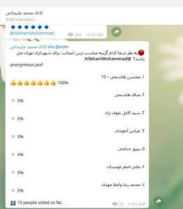 رونمایی عضو شورا از گزینه های جانشینی افشانی در شهرداری تهران/ از محسن هاشمی تا وزیر مستعفی و استاندار گلستان